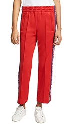 Marc Jacobs Track Pants Red