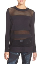 Alo Yoga Women's Alo 'Plank' Long Sleeve Top Black