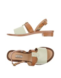 Paul Smith Footwear Sandals Women Light Green