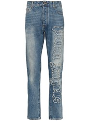 Palm Angels Indaco Regular Fit Jeans 60