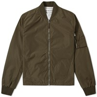 Universal Works Ma 1 Bomber Jacket Green