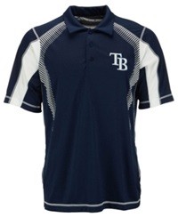 Antigua Men's Tampa Bay Rays Gauge Polo Navy White