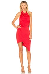 Elliatt X Revolve Camo Dress Red