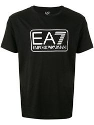 Emporio Armani Ea7 Ea7 Large Box Logo Series T Shirt 60
