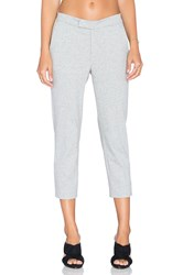 James Perse Slim Cropped Trouser Gray