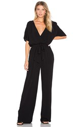 Lamade Christy Belted Jumpsuit Black