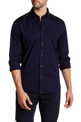 Lands' End Stretch Shirt Blue