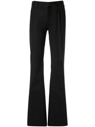 Giuliana Romanno Wide Leg Trousers Black