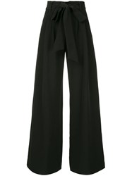 Milly High Waist Trousers Black