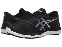Asics 33 Dfa 2 Black Silver Onyx Women's Running Shoes