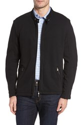 Thaddeus Men's Rhodes Motorcross Knit Jacket Black