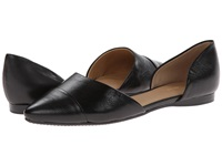 Tommy Hilfiger Naree3 Black Nappa Lea Women's Flat Shoes
