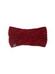 Ugg Cable Knit Headband Magenta