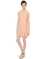 Yves Salomon Ruffled Crepe Dress