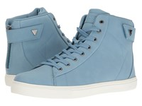 Guess Tulley Light Blue Men's Shoes