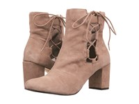 Bella Vita Kirby Almond Kid Suede Leather Women's Lace Up Boots Tan