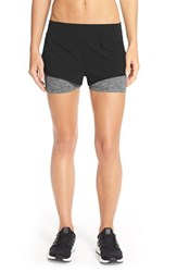 The North Face Women's 'Dynamix' Stretch Shorts Tnf Black Dark Grey Heather
