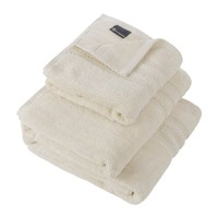 Amara Egyptian Cotton Towel Ivory Cream