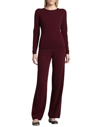 Neiman Marcus Cashmere Sweater And Yoga Pants X