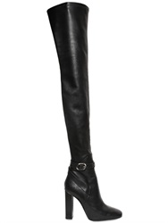 Emilio Pucci 120Mm Stretch Nappa Leather Boots
