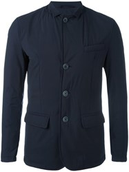 Herno Buttoned Jacket Blue