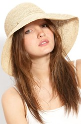 Women's Helen Kaminski 'Provence 12' Packable Raffia Hat