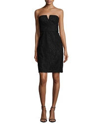 Donna Morgan Quinn Strapless Lace Cocktail Dress