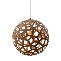 David Trubridge Coral Light Caramel 80Cm