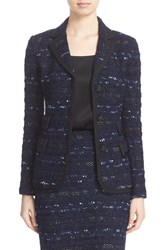 St. John Women's Collection Evening Cruise Stripe Jacket