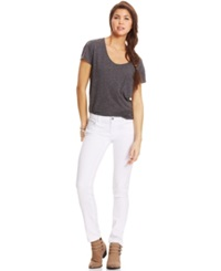 Celebrity Pink Jeans Juniors' Skinny Jeans White Wash