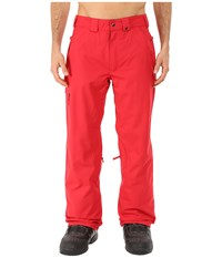 686 Authentic Standard Pant Cardinal 1 Men's Outerwear Red