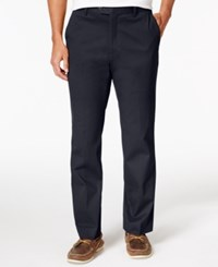 Tasso Elba Men's Regular Fit Chino Pants Only At Macy's Dark Navy