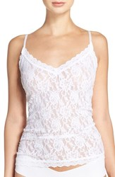 Hanky Panky Women's Lace Camisole White
