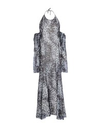 Gattinoni Dresses 3 4 Length Dresses Women Grey