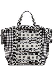 Dodo Bar Or Cotton Jacuqard And Lace Tote Bag Array 0X57a6958