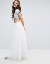 Y.A.S Mary Maxi Skirt Snow White