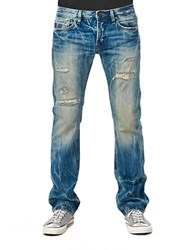 Cult Of Individuality Rebel Straight Kyoto Wash Jeans Blue