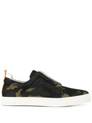 Pierre Hardy Camouflage Slider Sneakers 60