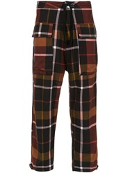 Osklen Flanell Chess Trousers Multicolour
