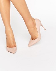 Aldo Stessy Nude Point Court Shoes Light Pink Beige