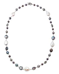 Stephen Dweck Sterling Silver Chain Necklace 25 Multi