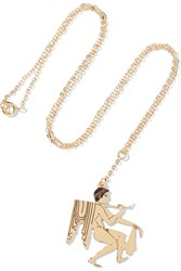 Loewe Gold Plated Necklace One Size