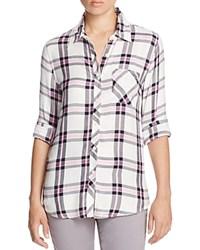 Prive Plaid Shirt Danielle Stripe