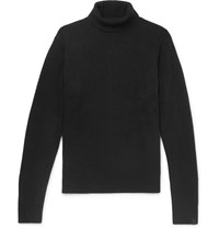 Rag And Bone Haldon Cashmere Rollneck Sweater Black