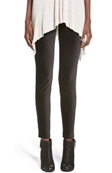 Women's Hue Cotton Blend Corduroy Leggings Black