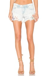 Blank Nyc Embroidered Short Sitting Pretty