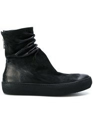 The Last Conspiracy Slouchy Ankle Boots Black