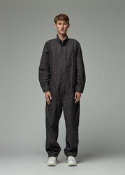 Engineered Garments 'S Coverall Suit Pants In Black Size Large 100 Cotton