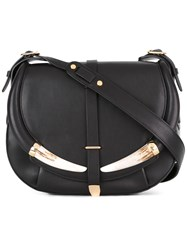 Roberto Cavalli Flap Shoulder Bag Black