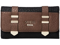 Guess Western Wild Multi Clutch Black Multi Clutch Handbags